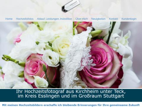 Hochzeitsfotograf aus Kirchheim unter Teck